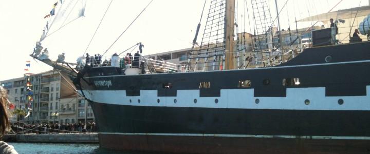 Escale à Sète - voilier Kruzenshtern