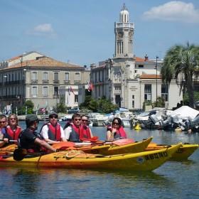 Escale à Sète - visite kayak