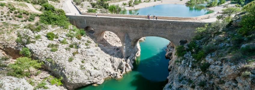 Pont du diable sur l'Hérault 3