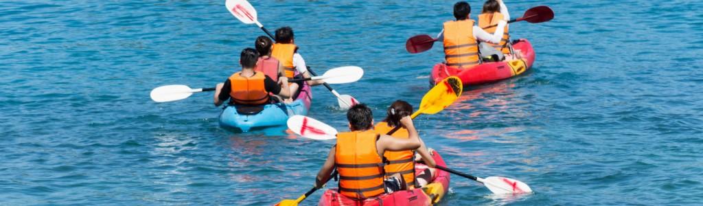kayaking Sète