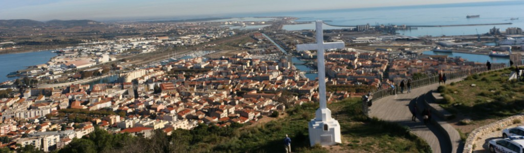 panoramique croix saint clair sete